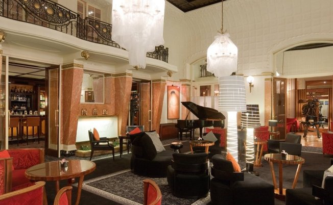 The Piano Bar at Hotel Lutetia - Paris, France