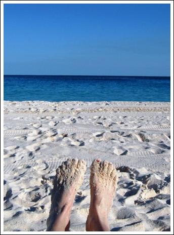 Relaxing in Bermuda