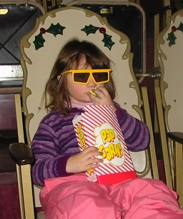 3'D Movie and Popcorn at Santa's Village