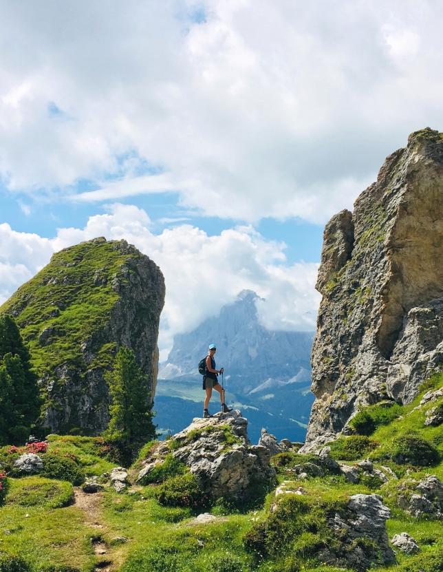 Dolomites_Hiker